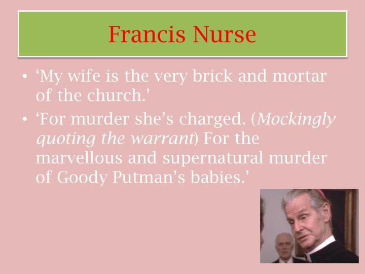 Francis Nurse
