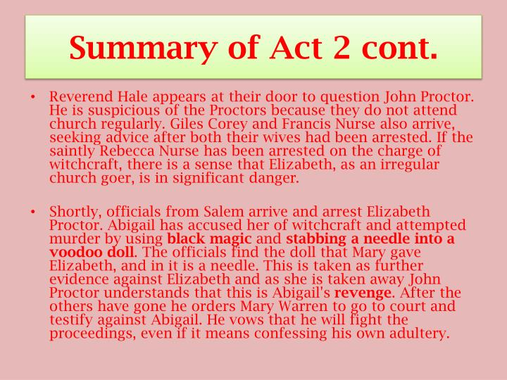 Summary of Act