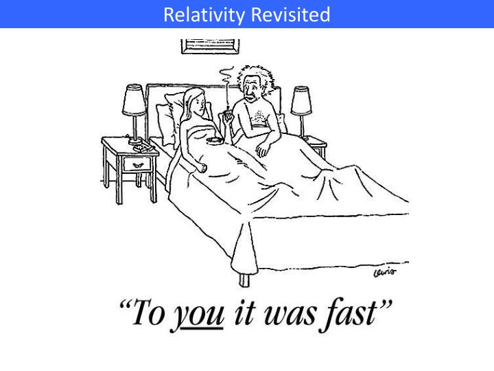 Relativity Revisited