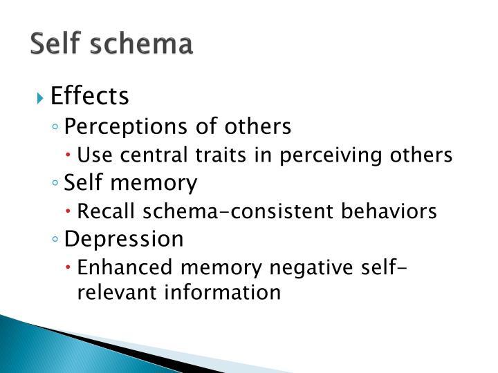 Self schema