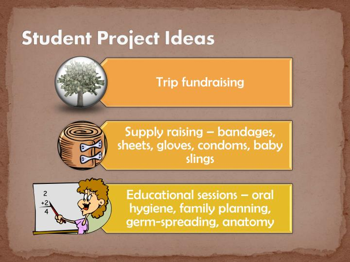 Student Project Ideas