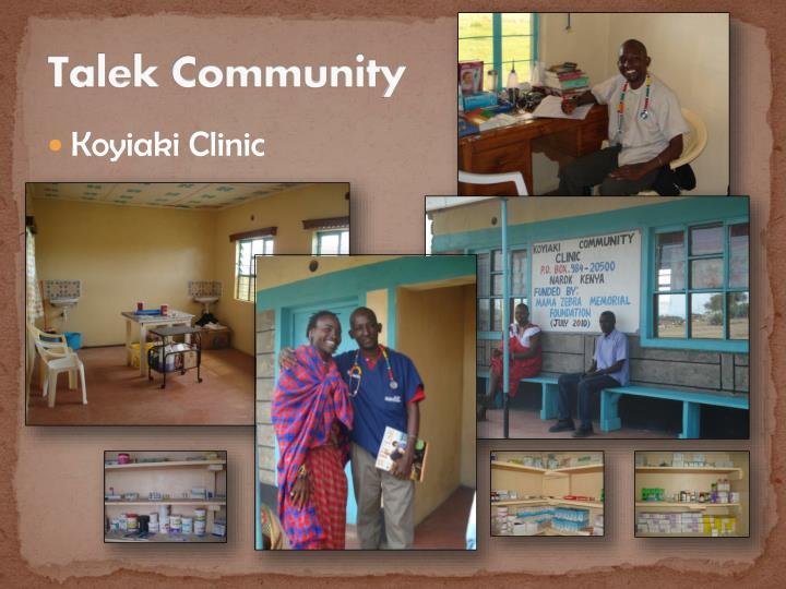 Talek Community