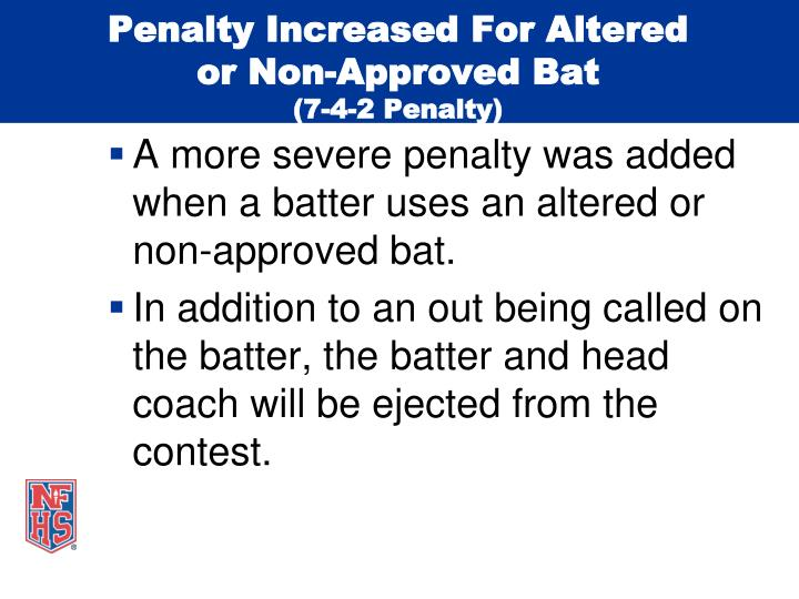 Penalty Increased For Altered