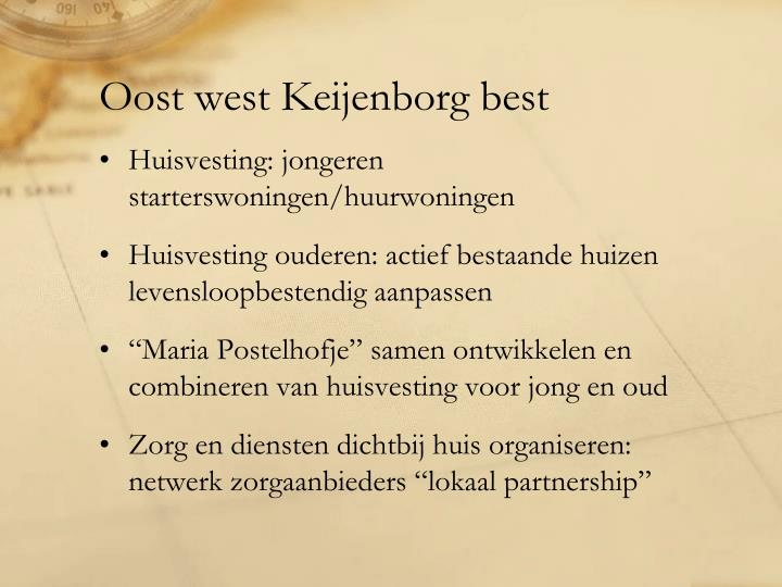 Oost west