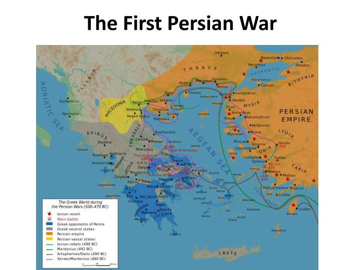 The First Persian War