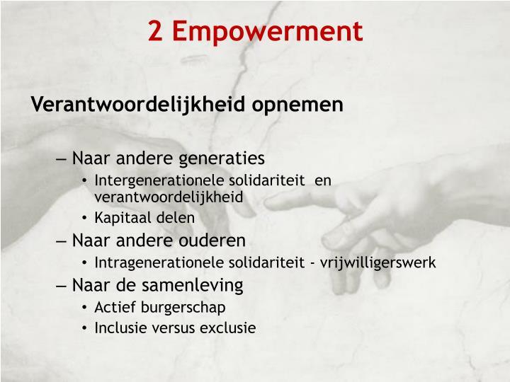 2 Empowerment