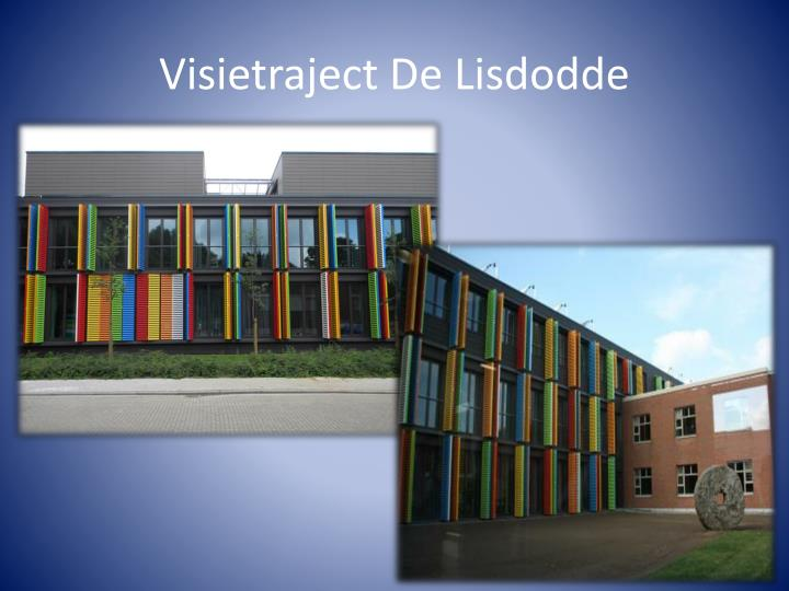 Visietraject De Lisdodde