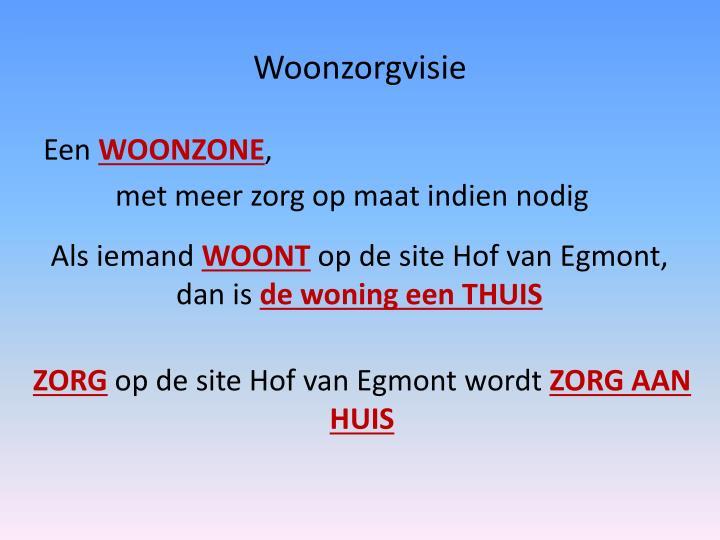 Woonzorgvisie