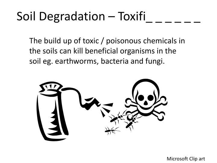 Soil Degradation –