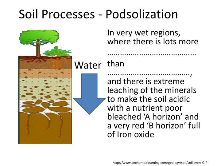 Soil Processes -