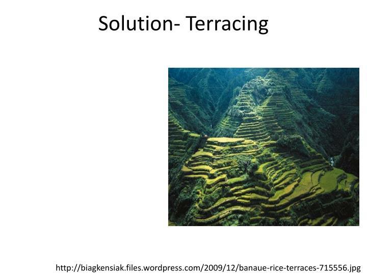Solution-