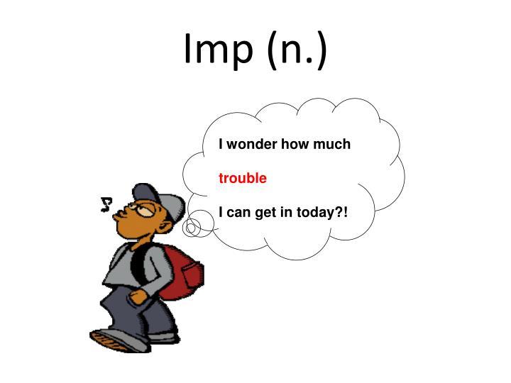 Imp (n.)