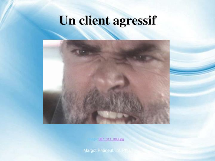 Un client