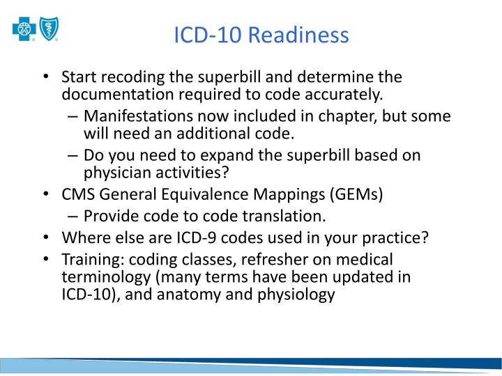 ICD-10 Readiness