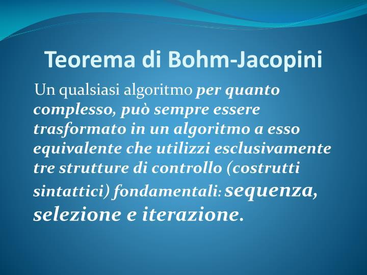 Teorema di