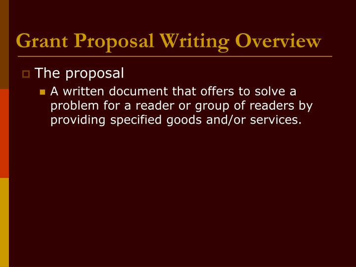 Grant writers grant writing service