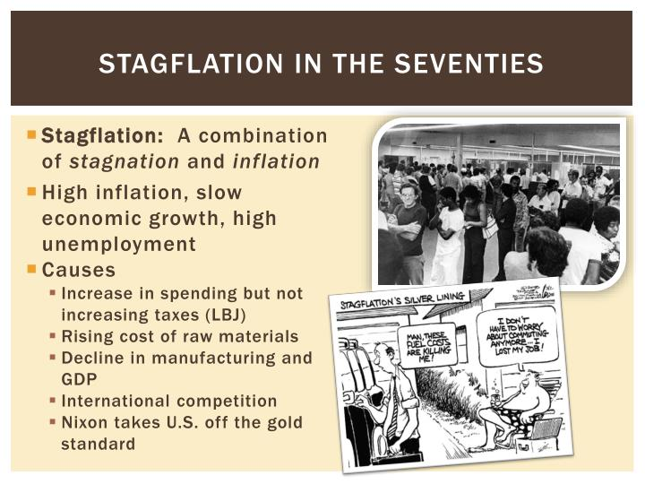 Stagflation in the Seventies