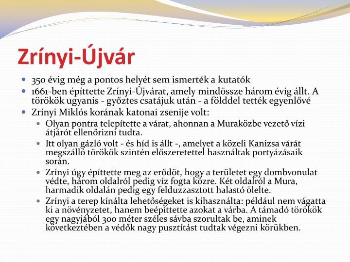 Zrínyi-Újvár