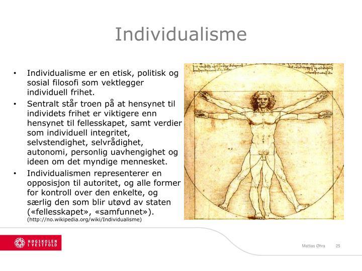 Individualisme