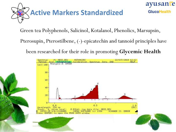 Active Markers Standardized