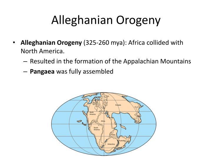 Alleghanian Orogeny