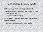 north carolina geologic events8