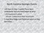 north carolina geologic events9