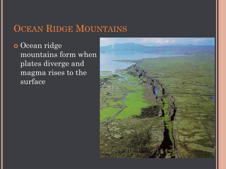 Ocean Ridge Mountains