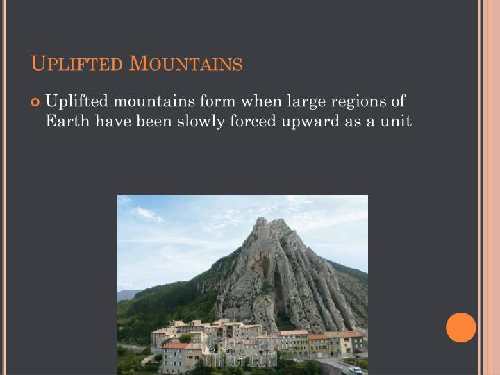 Uplifted Mountains