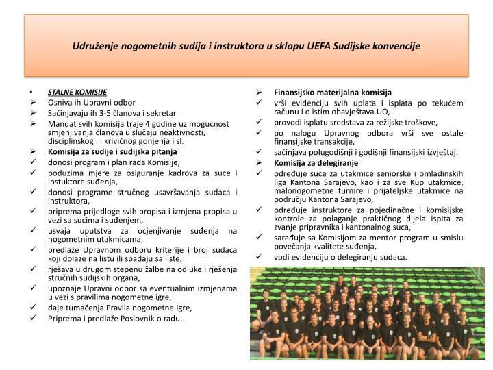 Udruženje nogometnih sudija i instruktora u sklopu UEFA Sudijske