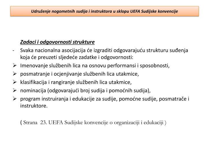 Udruženje nogometnih sudija i instruktora u sklopu UEFA Sudijske konvencije