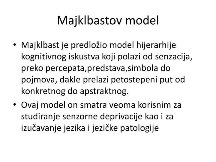 Majklbastov model