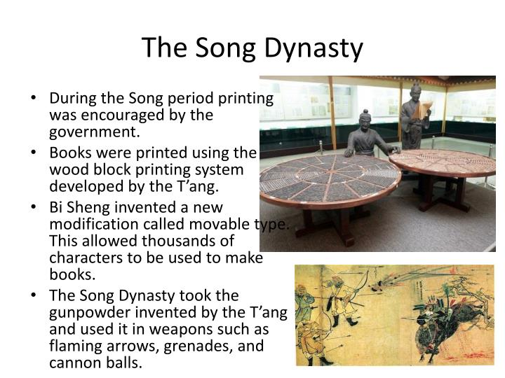 song dynasty and fireworks 6 monumental chinese inventions 1) gunpowder and fireworks alchemists of ancient china created the first gunpowder after discovering the.