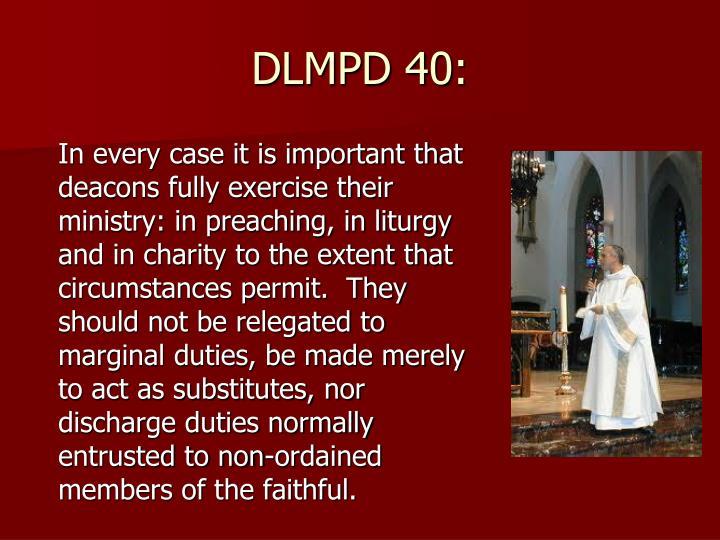 DLMPD 40: