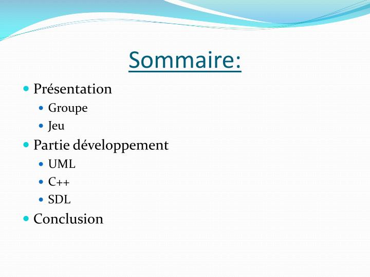 Sommaire: