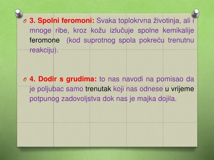 3. Spolni feromoni: