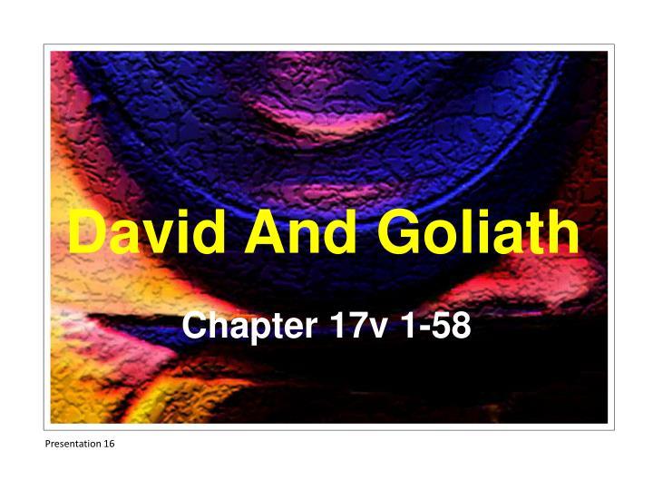 Chapter 17v 1-58