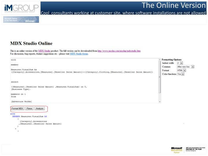 The Online Version