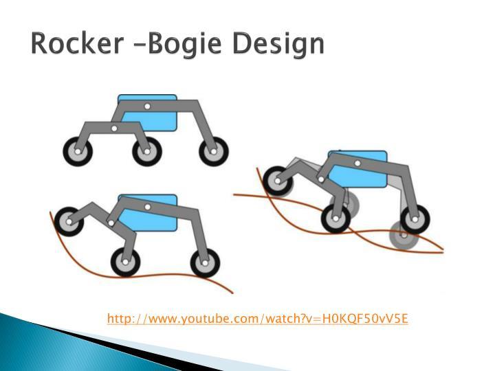 Rocker –Bogie Design