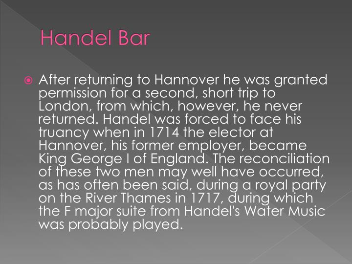 Handel Bar