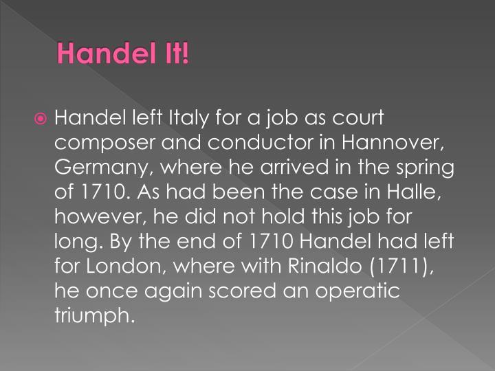 Handel It!