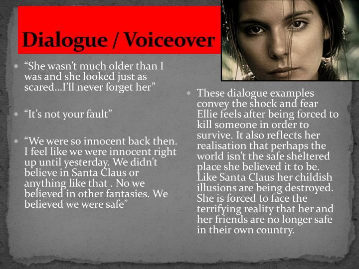 Dialogue / Voiceover