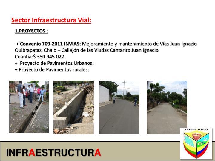 Sector Infraestructura Vial: