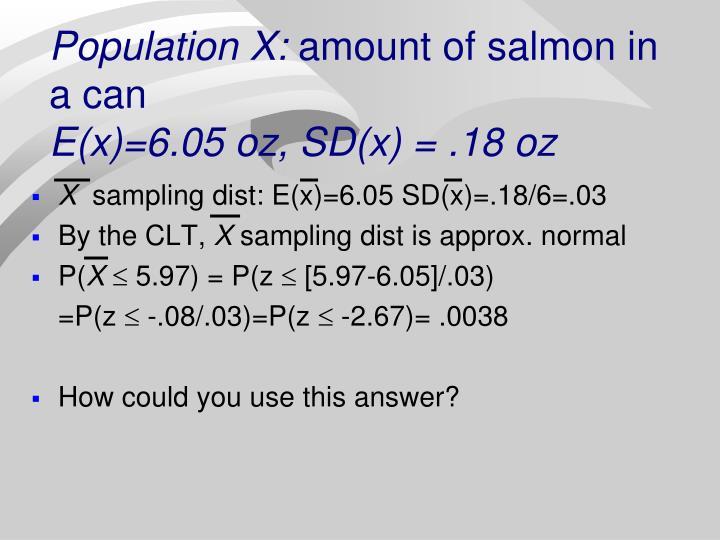 Population X: