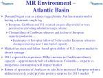 mr environment atlantic basin