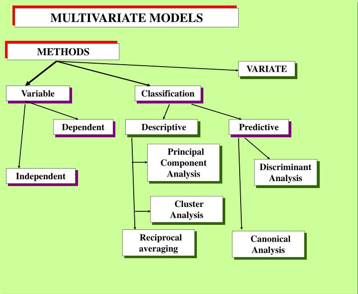 MULTIVARIATE MODELS