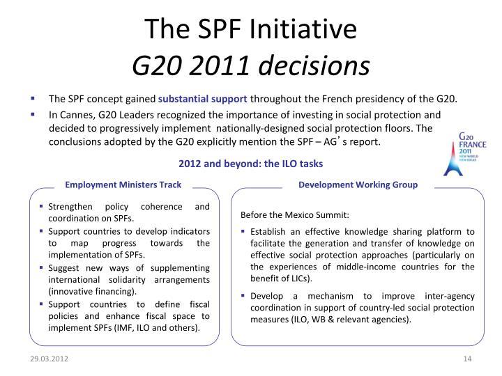The SPF Initiative