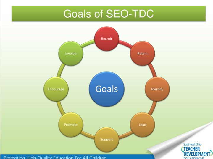 Goals of SEO-TDC