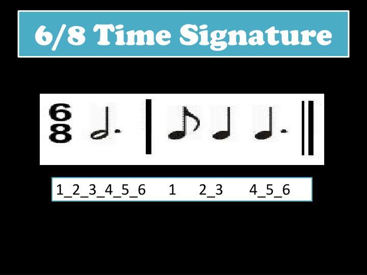 6/8 Time Signature