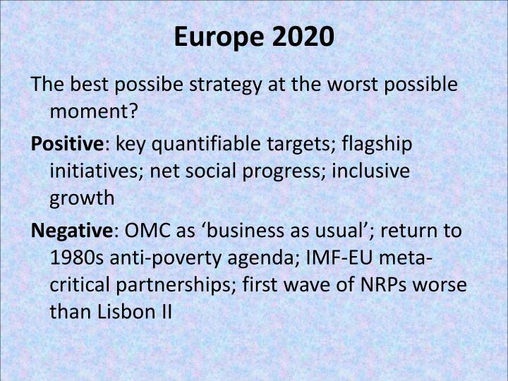Europe 2020